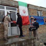 ساخت خانه محرومان در شهرستان هوراند به همت بسیج دانشجویی دانشگاه آزاد تبریز