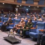 برگزاری مراسم شهدای جهادگر با پیام رهبر انقلاب