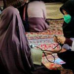 اردوی جهادی درمانی گروه فاطمه الزهرا(س) بسیجیان اردبیل