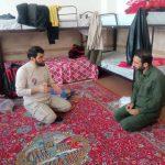 گزارش تصویری/حضور فعال بسیج دانشجویی در سی سخت