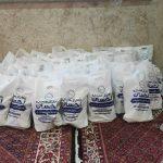 اقدام جهادی دانشجویان صنعتی همدان با توزیع بستههای معیشتی