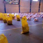 برگزاری رزمایش کمک مومنانه توسط جهادگران دانشگاه آزاد اسلامی کنگاور