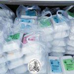 توزیع غذای گرم در بین نیازمندان و اقشار کم درآمد شهر اردبیل