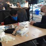 برپایی ایستگاه سلامت برای عزادارن حسینی (ع)