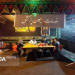 خدمات رایگان بهداشتی و درمانی در ایستگاه سلامت موکب حب الحسین (ع)