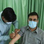 """مشارکت دانشجویان علوم پزشکی گراش در پویش"""" مجاهدین واکسیناسیون"""""""