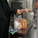 تهیه و توزیع کمکهای مومنانه به همت جهادگران حوزه الزهرا (س) تنگستان