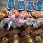 توزیع بستههای حمایتی بین خانوادههای آسیب دیده از کرونا در شاهرود